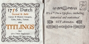 1756 Dutch font download