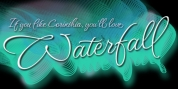 Waterfall font download