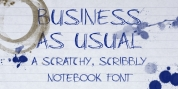 Business As Usual font download