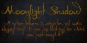Moonlight Shadow font download