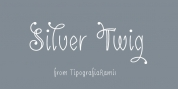 Silver Twig font download