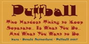 Puffball font download