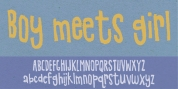 Boy Meets Girl font download