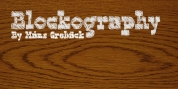 Blockography font download