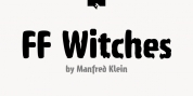 FF Witches font download