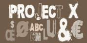 Project X font download