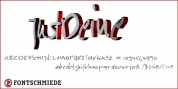 Just Deine font download