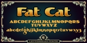 LHF Fat Cat font download