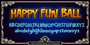 LHF Happy Fun Ball font download