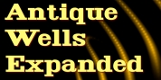 Antique Wells Expanded font download
