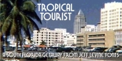Tropical Tourist JNL font download