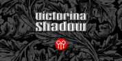 Victorina Black Shadow font download