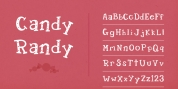Candy Randy font download