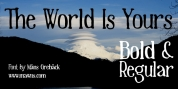 The World Is Yours font download