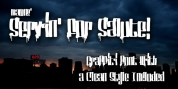 Servin For Salute font download