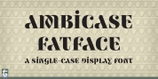 Ambicase Fatface font download