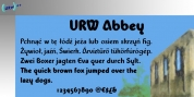 Abbey font download