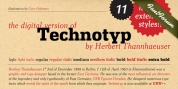 Technotyp font download