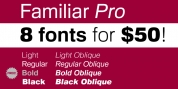 Familiar Pro font download