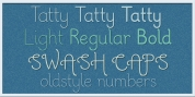 Tatty font download