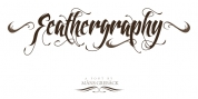 Feathergraphy font download