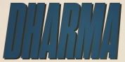 Dharma Gothic font download