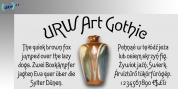 Art Gothic font download
