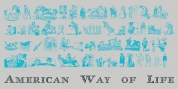 American Way Of Life font download