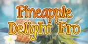 Pineapple Delight Pro font download