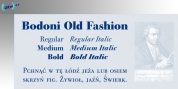 URW Bodoni Old Fashion font download