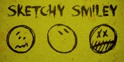 Sketchy Smiley font download