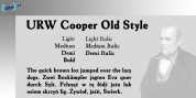 Cooper Old Style font download
