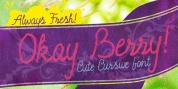 Okay Berry font download