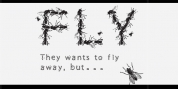 Flies font download