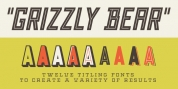 Grizzly Bear font download