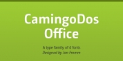 Camingo Dos Office font download