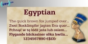 Egyptian 505 font download