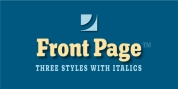 Front Page font download