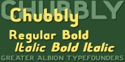 Chubbly font download