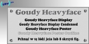 Goudy Heavyface font download