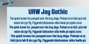 Jay Gothic font download