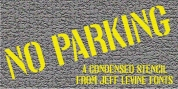No Parking JNL font download
