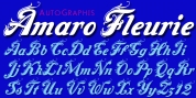 Amaro Fleurie font download