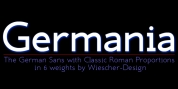 Germania font download