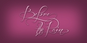Before The Rain font download
