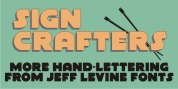Sign Crafters JNL font download