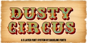 Dusty Circus font download