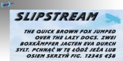 Slipstream font download