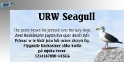 Seagull font download