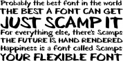 Scamps font download